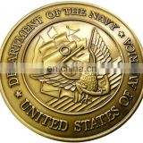 department of the navy metal military challenge coins
