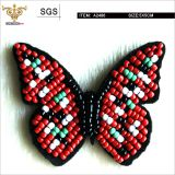 Trendy Seed beads insects applique,Beading butterfly, Beaded patches for bags,shoes, apparels,high quality handmade