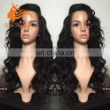 7A Remy Bohemian Cheap Human Hair Body Wave Full Lace Wig Under 200 Free Part With Baby Hair