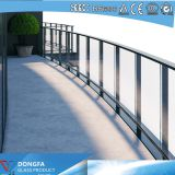 SGP laminated glass railing glass price per square meter