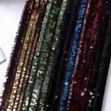 5mm Sequin Fabric Mesh Based Multicolour