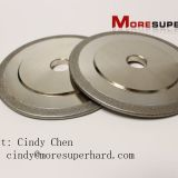 Electroplated diamond & CBN grinding wheel