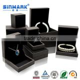Gray box for jewelry, jewelry packaging box,leather jewelry box                                                                         Quality Choice