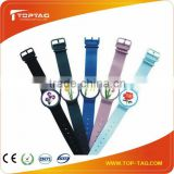 2014 new design silicone metal wristband, printing wristband silicone, rfid bracelet metal