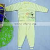 eco-friendly cotton thin knitted pattern new born baby kids knitwear for spring