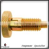 Knurled Knob locking type Locking Element index pin 6701-B-SS
