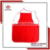 Washable polyester kitchen non woven kitchen apron