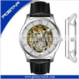 Factory Luxury Skeleton Mechanical Watch Man with Superior Grade Quality