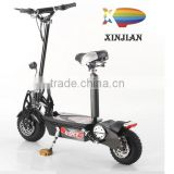 Popular two wheels electric scooter with 350-500W highpower motor and 24V/36V lithium battery
