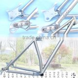 "Top selling Gr9 Titanium 29"" plus Mountain Bike/ 650B plus fat bike frame with 157/148 thru-axle"
