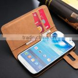 Competitive factory PU leather buying in bulk wholesale for samsung galaxy S4 case                                                                         Quality Choice