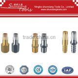 Germany Type Air Quick Coupler se07-08/Brass Quick connect plug, coupling plug/air plug in Germany for automotive