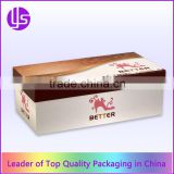 Cheap Luxury Custom Color Printed Paper Cardboard Shoe Packaging Box With Logo For High Heels