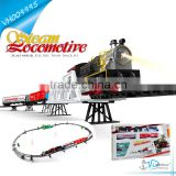 Battery Operated Smoke Large Toy Train Set