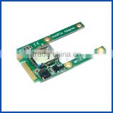 Mini PCIe PCI express to USB 2.0 converter Card Laptop built in USB wifi bluetooth adapter