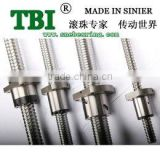 TBI brand ball lead screw for cnc machine SFU1610 1000mm for cnc machine sell USD12.99/PC
