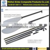 Wholesale 3k weave carbon fiber kayak paddle with adjustable paddle shaft
