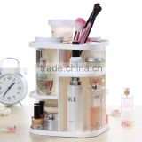 C135-1 360 Degree Rotating Display Stand Acrylic Cosmetic Storage Organizer Box