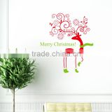 Christmas Reindeer Mural Removable Wall Sticker Decal Home Shop Window Decor DIY