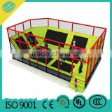 MBL09-A217 trampoline indoor trampoline large outdoor trampoline with enclosures physical game