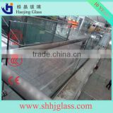 best office curtain wall double glazing float glass wall unit with CE