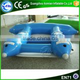 Cheap japanese inflatable flying fish boat for water park
