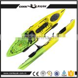 No Inflatable fishing kayaks and cheap kayaks the boat pvc sit on top with polyethylene Hull Material