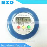 Gift Items Daily Household / Plastic Standing Round Electric Count down and Count Up Timer with Magnet Clip