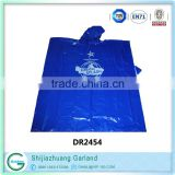 polyester patterned rain coat promotion disposable rain poncho                                                                         Quality Choice