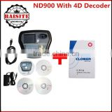 Best quality ND900 Auto Key Programmer With 4D Decoder Professional Car Key Duplicator Auto Key Programmer