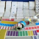 OEM printing adhesive tags/ hang tags/sticker/ barcode label/ labels