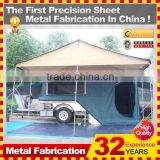 2014 hot sell camper trailer with tent,china manufacturer with oem service