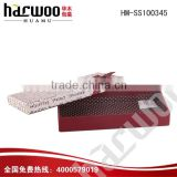 With a red belt beautiful gift tie packing box                                                                         Quality Choice