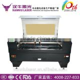 Guangzhou Hanniu 1300*900mm AK-1390T(Double head) co2 laser paper cutting machine for invitation card