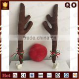Hot Selling Christmas Reindeer Car Antlers For sales