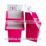 Promotional POP Paper Free Stand Display for Big Items, Electronic, Customized Design Welcome