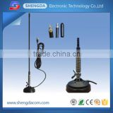 Strong magnetic base 27mhz CB Antenna with spring barrel mount and folded whip for CB mobile car radio