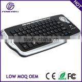 Multimedia 2.4g RF wireless trackball keyboard for smart tv                                                                         Quality Choice