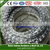 HDG razor barbed wire fence from China fatory( ISO9001)