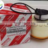 23390-0L070 Genuine OEM Element Oil Fuel Filter Kit Diesel Fit Toyota Hilux Hiace Vigo 2005-