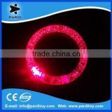 2015 led acrylic flashing bracelet light in the dark                                                                         Quality Choice