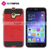 IVYMAX Private label mobile accessories slim fit brushed pc phone case for Alcatel OT5015A                                                                                                         Supplier's Choice