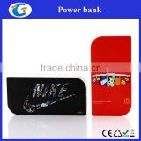 ABS Plastic OEM 2000mAh Cell Phone Branded Power Bank