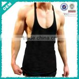 Y-back blank gym mens stringer singlet wholesale (lyh020007)