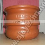 Unglazed Indian Clay Cooking Pot