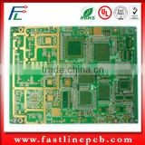 4 layer FR4 Blind Buried Via audio player circuit board pcb