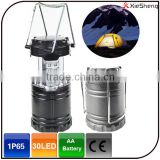 30LED high brightness portable umbrella lantern rechargeable camping tent light                                                                         Quality Choice