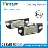 Good quality wholesales LED number plate lamp for Ford MK2/C-MAX I,led light for car parts, LED registration mark light fo
