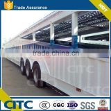 2015 Top Ranking 8-10 Car Transport semi truck Trailer / Car Carrier semi-Trailer with two single wheel axles
