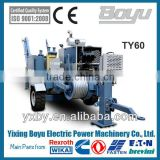 TY60 Hydraulic cable pulling machine Max continous pulling force:50KN